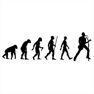 Adesivo - Música Evolução Automóveis