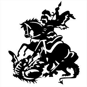 Adesivo - São Jorge Religião