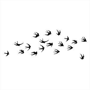 Adesivo - Pássaros Natureza
