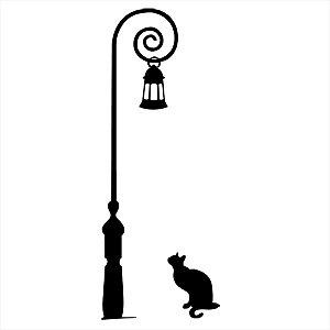 Adesivo - Gatos Poste Pets