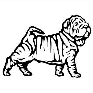 Adesivo - Cachorro Shar pei Pets