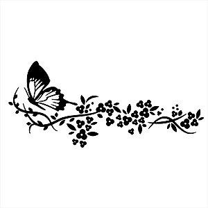 Adesivo - Borboletas Natureza