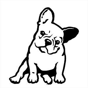 Adesivo - Cachorro Bulldog Pets