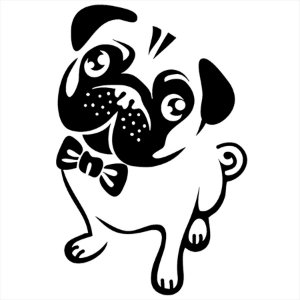 Adesivo - Pug Pets