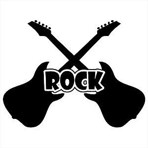 Adesivo - Guitarras Rock Música