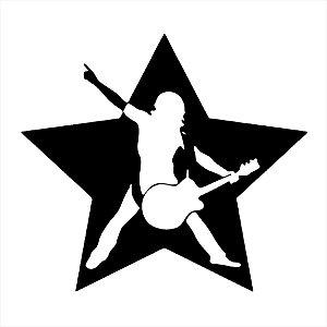 Adesivo - Rock Star Música