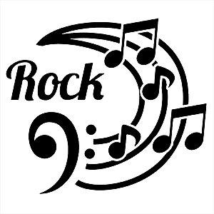 Adesivo - Rock Música