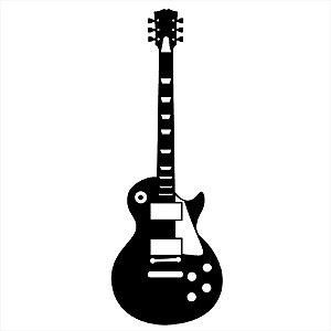 Adesivo - Guitarra Música