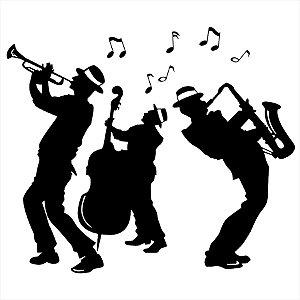 Adesivo - Jazz Banda Música