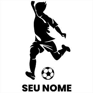 Adesivo - Futebol Personalizado Esporte