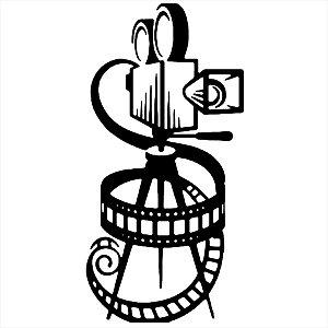 Adesivo - Camera Cinema Cinema