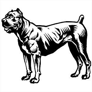 Adesivo - Cachorro Cane Corso Pets