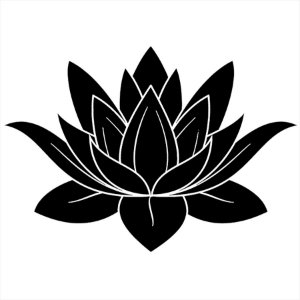 Adesivo - Flor De Lotus Natureza