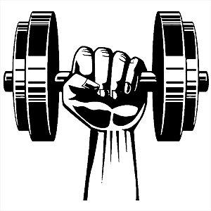 Adesivo - Musculação Esporte