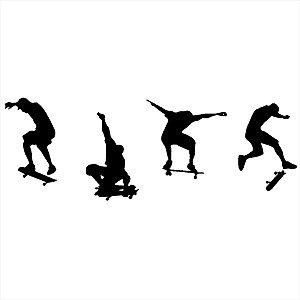 Adesivo - Skatistas Esporte