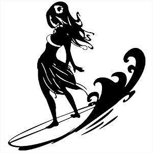 Adesivo - Surfista Esporte