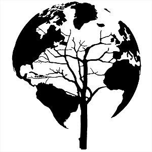 Adesivo - Planeta Viagem/Turismo