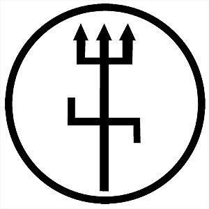 Adesivo - Tridente Exu Religião