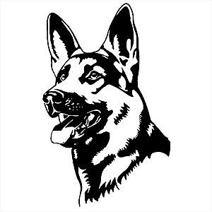 Adesivo - Cachorro Pastor Alemão Pets