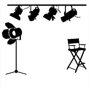 Adesivo - Estúdio de Cinema Cinema