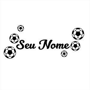 Adesivo - Futebol - Personalização Esporte