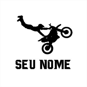 Adesivo - Motocross - Pesonalização Esporte