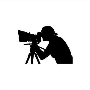 Adesivo - Fotografia Profissões