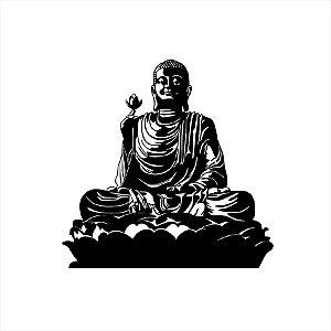 Adesivo - Buda Religião