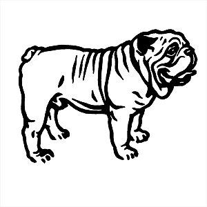 Adesivo - Bull Dog Pets