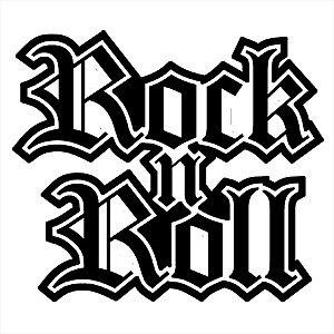 Adesivo - Rock n' Roll Música