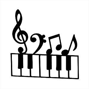 Adesivo - Piano Música