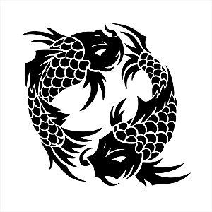 Adesivo - Peixe - Carpa Natureza