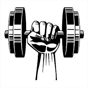 Adesivo - Academia, Musculação Esporte