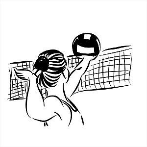 Adesivo - Volei Voley Esporte