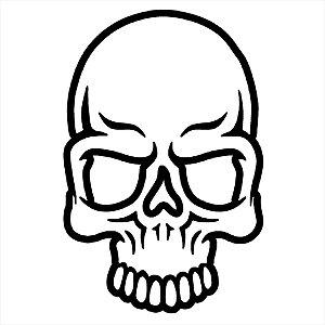 Adesivo - Crânio Diversos