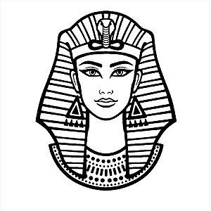Adesivo - Faraó Egito Diversos