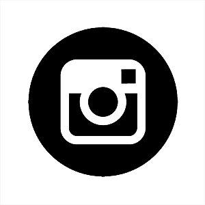 Adesivo - Logo Instagram Profissões