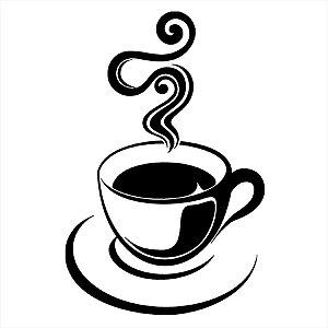 Adesivo - Café Quente Na Xícara Cozinha