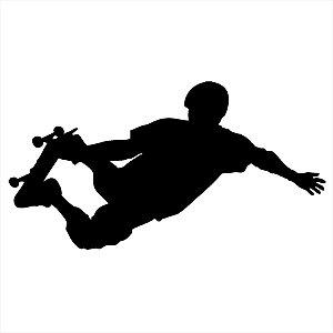 Adesivo - Skatista Skate Sk8 No Ar Esporte