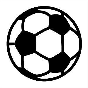 Adesivo - Bola De Futebol Esporte