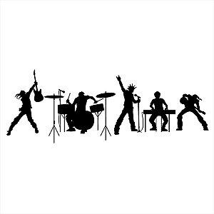 Adesivo - Rock Band Banda De Rock Música