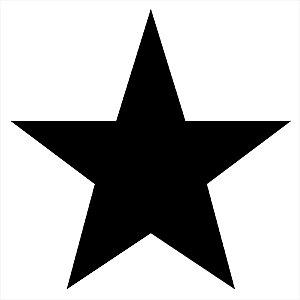 Adesivo - Estrela Cinco Pontas Star Outros