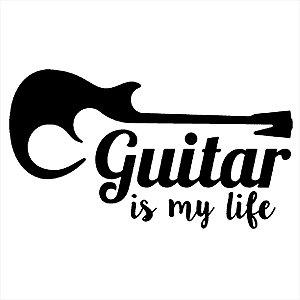 Adesivo - Guitar Is My Life Música