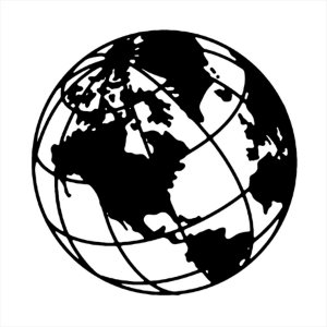 Adesivo - Mundo World Planeta Terra Planet Earth Globo Viagem/Turismo
