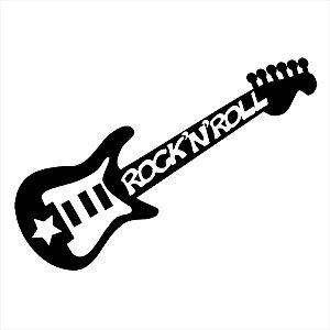 Adesivo - Guitarra Electric Guitar Rock'N'Roll Música
