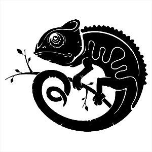Adesivo - Camaleão Natureza