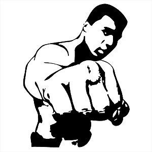 Adesivo - Muhammad Ali Esporte
