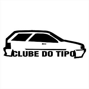 Adesivo - Clube Do Tipo Carro Silhueta Silhouette Automóveis