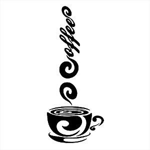 Adesivo - Cup Of Coffee Xícara De Café Cozinha