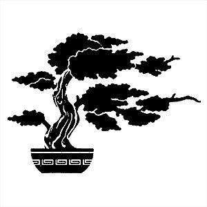 Adesivo - Árvore Japonesa Bonsai Natureza